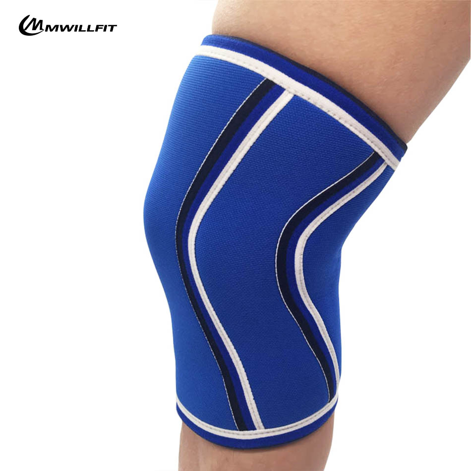 5f99203873 1 Pair Knee Sleeves 7mm Neoprene Knee Support for Cross Training Gym  Weightlifting Brace Cap Support Compression Bodybuilding-in Elbow & Knee  Pads from ...