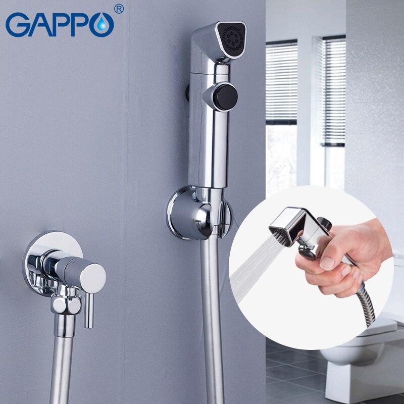 Bathroom Fixtures Gappo Bidets Muslim Toilet Mixer Tap Bidet Portable Faucet Bidet Toilet Sprayer Bidet Tap Mixer Wall Mounted Toilet Washer