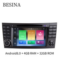 Besina Android 8 0 Two Din 7 Inch Car DVD Player For Mercedes Benz E Class
