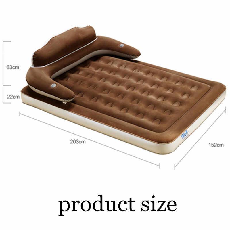 แบบพกพา Inflatable เตียง Muebles รักเตียงผู้ใหญ่โซฟาไฟฟ้าปั๊มห้องนอนเฟอร์นิเจอร์เก้าอี้พับ Muebles Para Recamaras