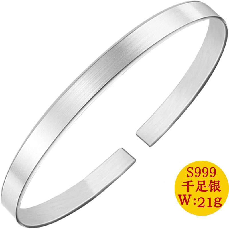 2019 Real Sale Women Alexandrite Classic No Bangle Wire Drawing Frosted Bracelet All Over The Sky Contracted Female Fashion 2019 Real Sale Women Alexandrite Classic No Bangle Wire Drawing Frosted Bracelet All Over The Sky Contracted Female Fashion