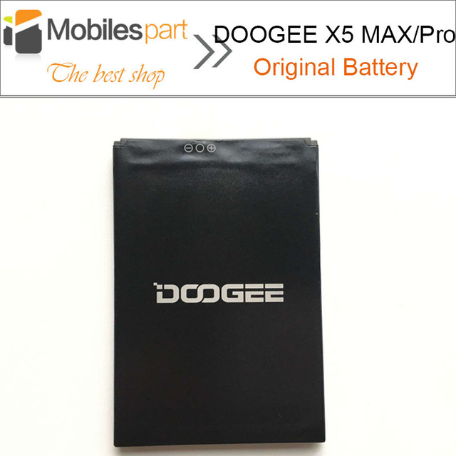 DOOGEE X5 MAX Battery 100% Original High Quality Replacement 4000mAh Li-ion Battery for DOOGEE X5 MAX Pro Smartphone