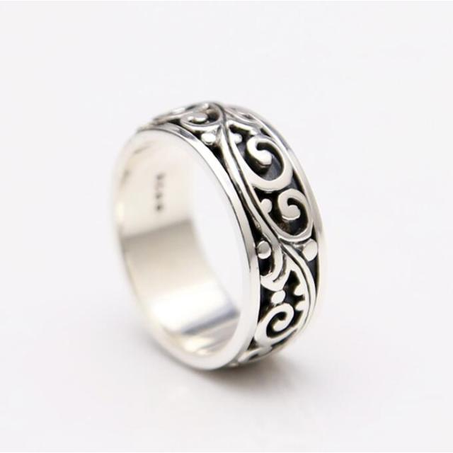 ring size dsc s wrap sterling wraparound jewellery rings york silver feather adjustable angel m