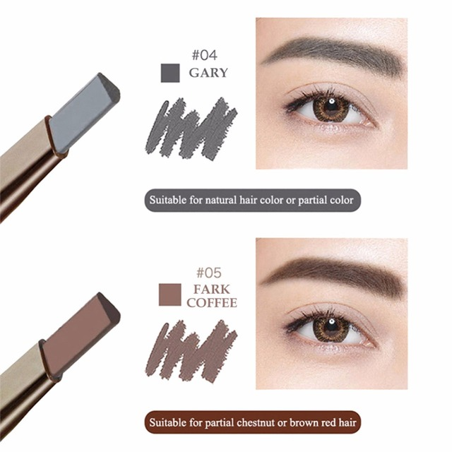 Odcień Kosmetyki Eye Brow Eyebrow Enhancer Farby Tatuaż Brwi Ołówek