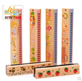 Wooden children 1pc Orff harmonica color baby music educational early Musical Instruments gifts