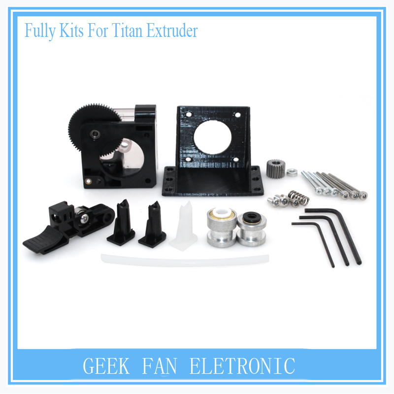 ФОТО 3D Printer parts BIQU Black Widow Fully Kits For Titan Extruder for 1.75mm 3D printer extruder for J-head bowden 3d0390
