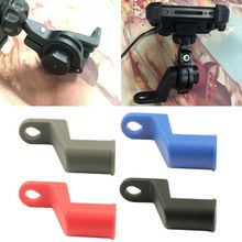 Motorbike Electric Bike Motorcycle Rearview Mirror Extension Mount Bracket Holder for Mobile Phone Tablet Handlebar Mount Stand sp motorcycle handlebar modified very cool rearview mirror holder multi functional extension rod