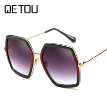 Oversized Sunglasses Women Luxury Brand Design Elegant polarized Glasses Female Square spectacles Oculos De Sol mulher