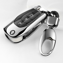 Folding Car Key Cover TPU Case Fob Shell For Chevrolet Cruze spark sonic camaro Volt Bolt Trax Malibu cruze 3 button styling