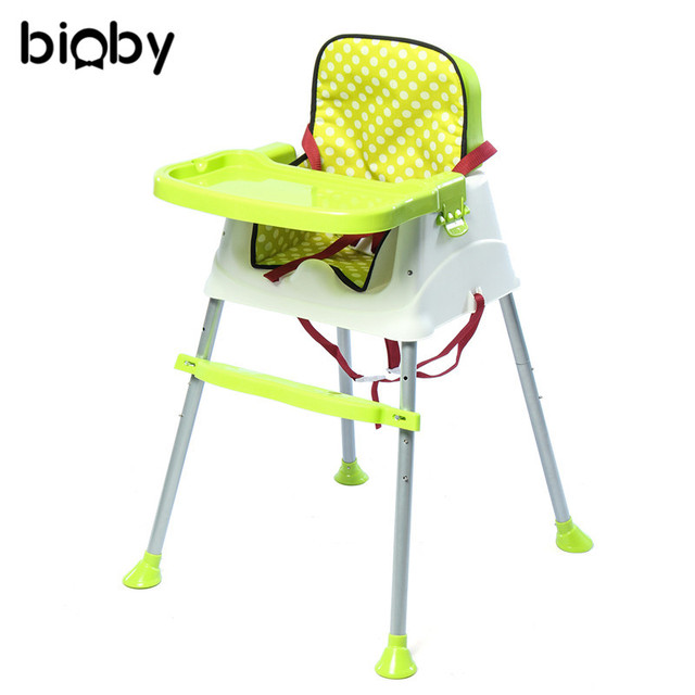 Portable High Chair Baby Good Posture Tv Feeding Infants Booster Seat Eating Chairs Dinner Table Multifunction Adjustable Folding Plastic