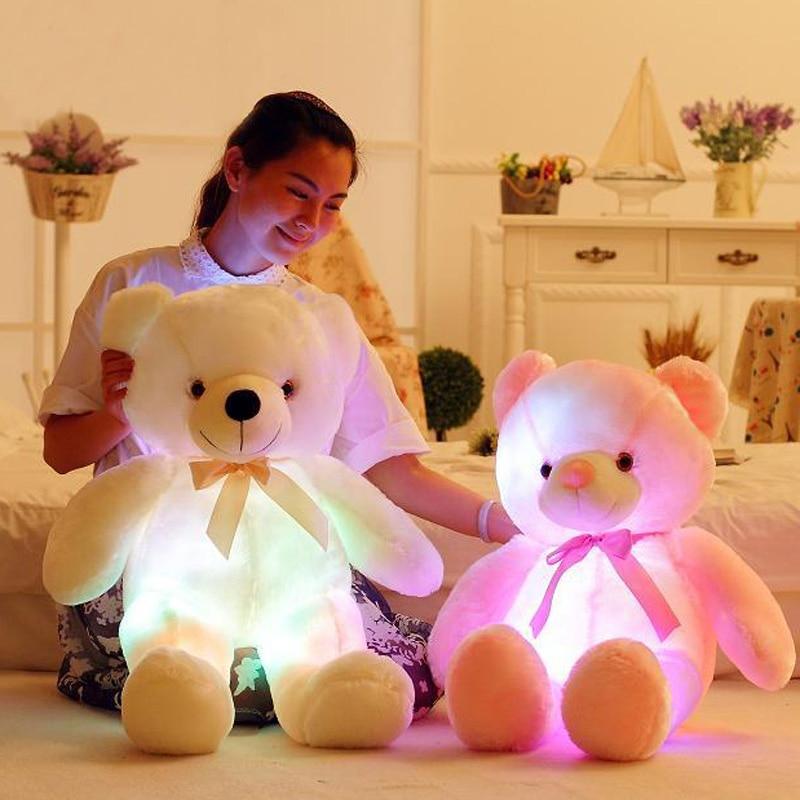 QWZ 50cm creativo Light Up LED oso de peluche animales de peluche - Peluches y felpa - foto 3