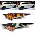 1 PC/LOT 3 3dcar Pegatina 3D Ojos Asomando pegatina Monster Voyeur Coche Tronco Campanas Thriller Rear Window Decal