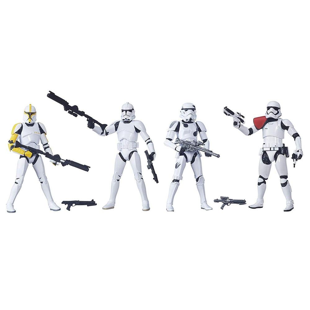 Figura de acción de 6 pulgadas del soldado de primera orden Imperial de la serie negra de Star Wars-in Figuras de juguete y acción from Juguetes y pasatiempos    1