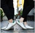 Размер 35-44 Мода Плоские мокасины Натуральная кожа Унисекс Женские Повседневная Обувь совет обувь Любителей обувь