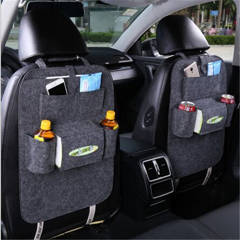 Car Storage Bag Back Seat for Ford Focus 2 3 Fiesta Mondeo Kuga Citroen C4 C5 C3 Skoda Octavia 2 A7 A5 Rapid Fabia Accessories yuzhe 2 front seats auto automobiles car seat cover for ford fushion focus fiesta edge explore kuga car accessories styling
