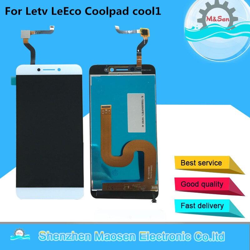 M & Sen Für Letv LeEco Coolpad cool1 kühlen 1 c106 c107 c103 R116 LCD screen display + touch digitizer für Letv Coolpad Kühlen 1c + werkzeuge