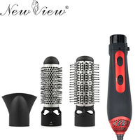 3 In 1 Multifunctional Styling Tools Hairdryer Hair Curling Comb Hair Dryer Professinal Salon 220v 240v