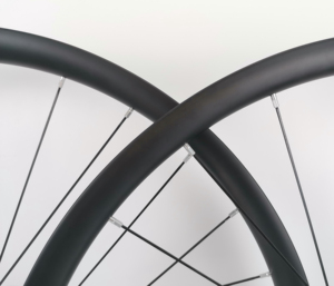 Image 4 - 29ER Asymmetry MTB AM/XC hookless carbon wheels 30mm width 24mm depth mountain bike super light carbon wheelset