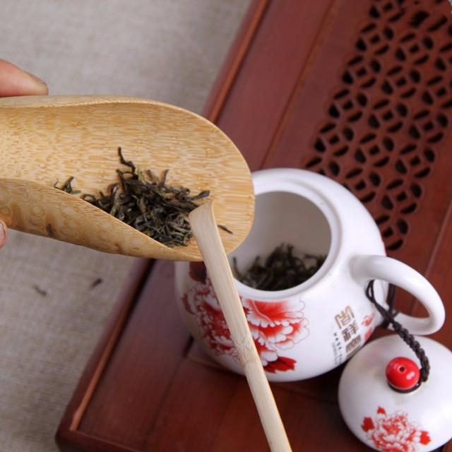 Arshen 18cm Handmade Bamboo Chashaku Matcha Tea Scoop Retro Japanese Green Tea Ceremony Matcha Scoop Tea Sticks Tool