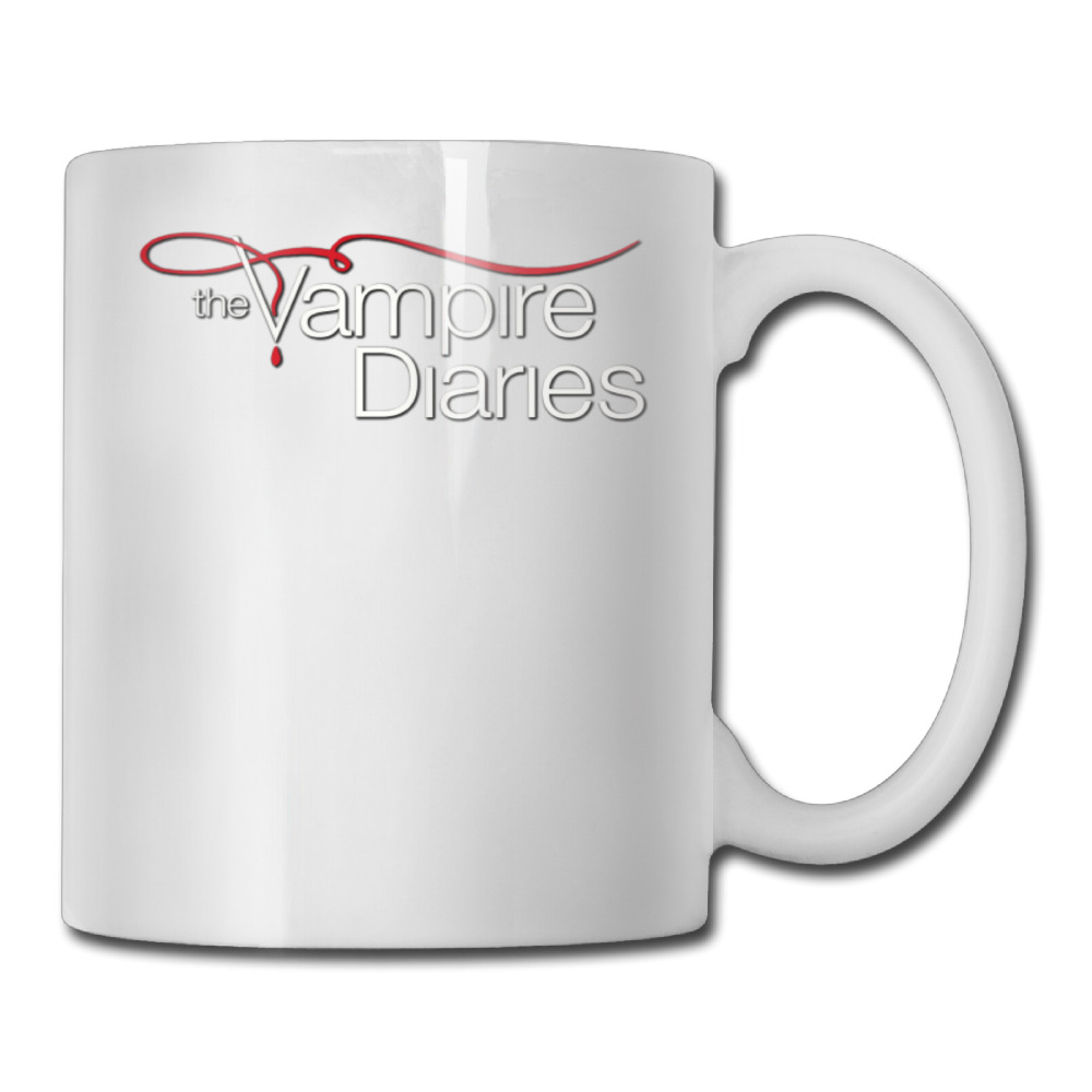 The Vampire Diaries coffee mug funky children tazas ceramic tumbler caneca tea Cups