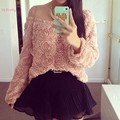 Women Girls Sweet Cute Shirt O-Neck Long Sleeve Casual Tops  Autumn 3 Colors Hot Sale