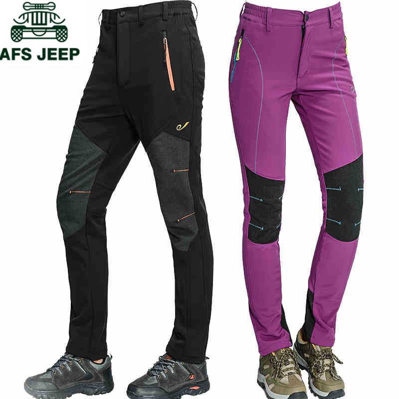 AFS JEEP Summer Lightweight Quick Dry Casual Pants Men Breathable Waterproof Military Tactical Pants Long Women Men's Trousers