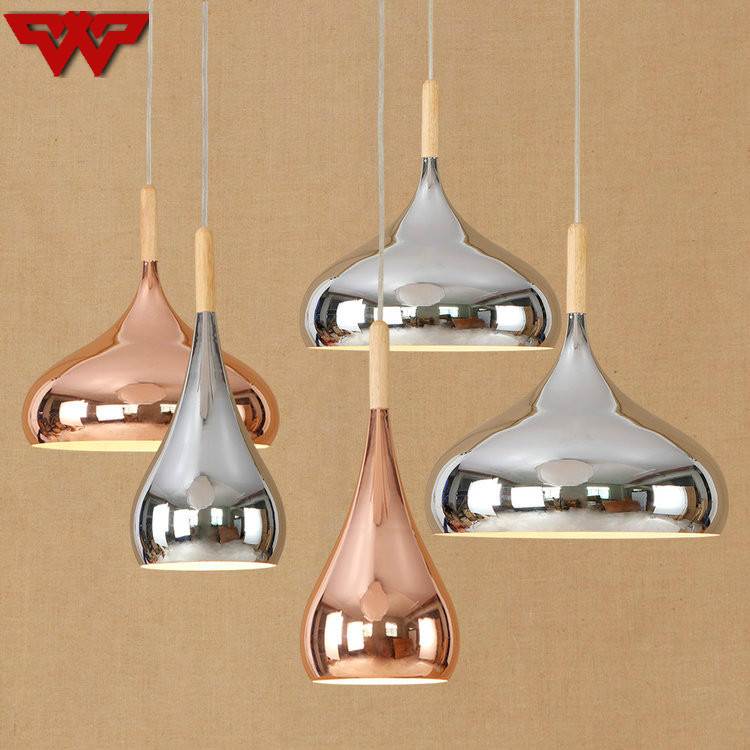 Aliexpress com : Buy Nordic Postmodern Style Rose Gold Chrome Plating  Chandelier Restaurant Living Room Bedroom Iron Simple Creative Lighting  from