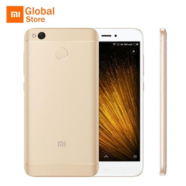"Xiaomi Redmi 4x2 ГБ 16 ГБ 4 X мобильный телефон Snapdragon 435 Octa Core 5.0 ""2.5D экран 13.0MP 4100 мАч аккумулятора отпечатков пальцев ID"