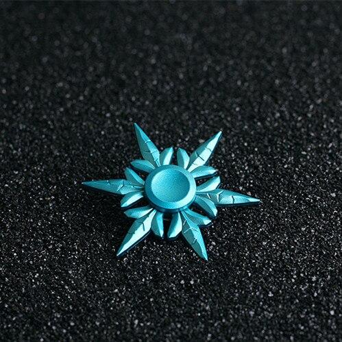 Синий Sivir Книги об оружии Ice Storm для детей цинковый сплав Буле Shuriken вращающийся Дартс Игрушечные лошадки подарок для друзей семьи