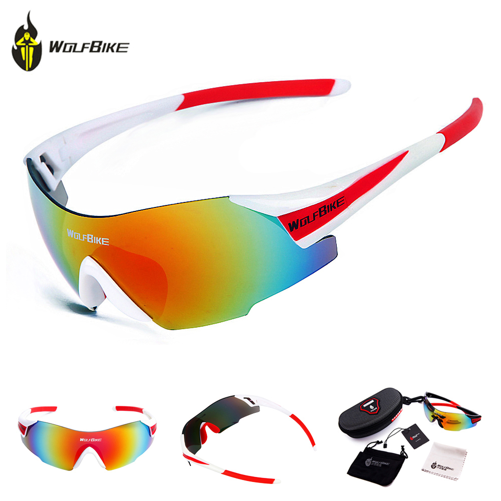 810c81d4cf7 Detail Feedback Questions about WOLFBIKE UV400 Cycling Glasses Women Men  Outdoor Sports MTB Road Bike Bicycle Windproof Riding Fishing Sunglasses