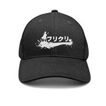 Shihangya hombre Anime de dibujos animados Fooly Cooly FLCL logotipo del  sombrero del Snapback sombreros de camionero gorras de . e4902bf2e9d