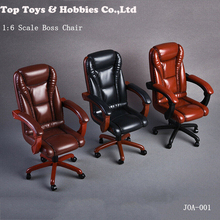 цены 1/6 Scale action figure Scene Accessory 3 Colors 1/6 Scale Office Boss Swivel Chair For 12