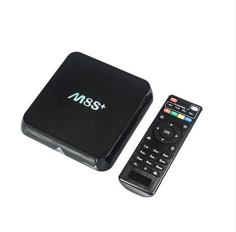 Android 5.1 HD TV Box M8S+ Bluetooth Amlogic S812 Quad Core 2G/8G Kodi  4K H.265 2.4G&5G WiFi quad core koid xbmc android tv box amlogic s812 2g 16g 2 4g 5g dual mali450 gpu 4k hdmi bluetooth dolby true hd midia player