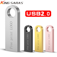 Memoria Pendrive 16GB Usb 3.0 Metal 4GB 8GB Usb Flash Drive 64GB Usb Stick 128gb Pen Drive 32GB U Disk Key Free Shipping & Logo цена и фото