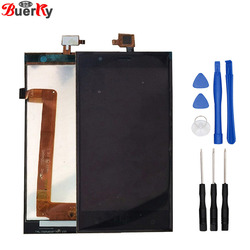 BKparts Tested For Highscreen Boost 3 pro Boost3 boost 3 se LCD Display Touch Screen Glass Digitiz Complete Assembly Replacement
