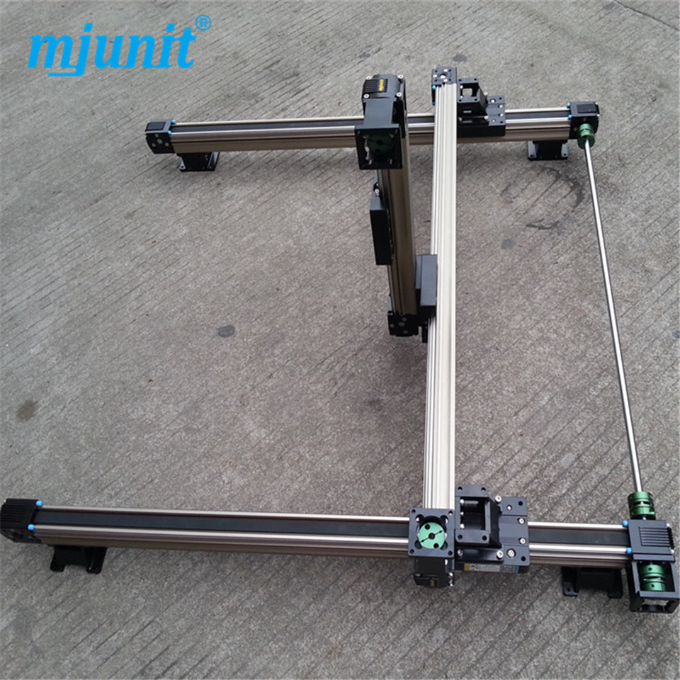 Motorized Stage,Stepper Motor,Precision Linear Stages Application for Industry 3 Axis Translator 3 axis linear stage motorized stepper motor precision linear rail application for labs