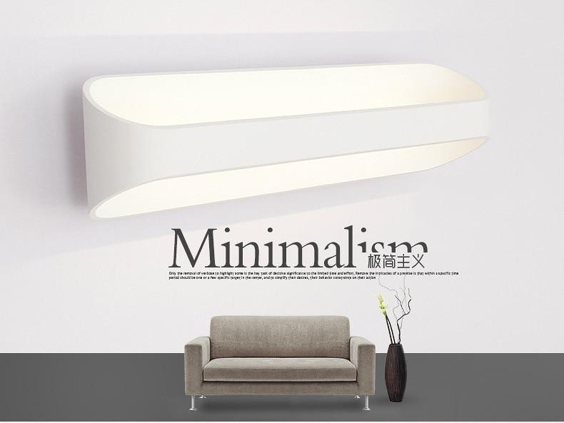 LED divar çıraqları 3W 5W 10W AC85-265V Müasir sadə yataq - Daxili işıqlandırma - Fotoqrafiya 6
