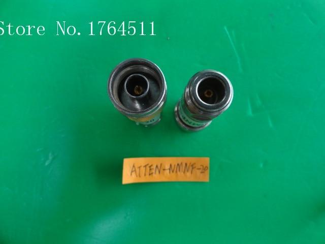 [BELLA] MINI ATTEN-NMNF-20 DC-8GHz 20dB 2W N Coaxial Fixed Attenuator  --2PCS/LOT