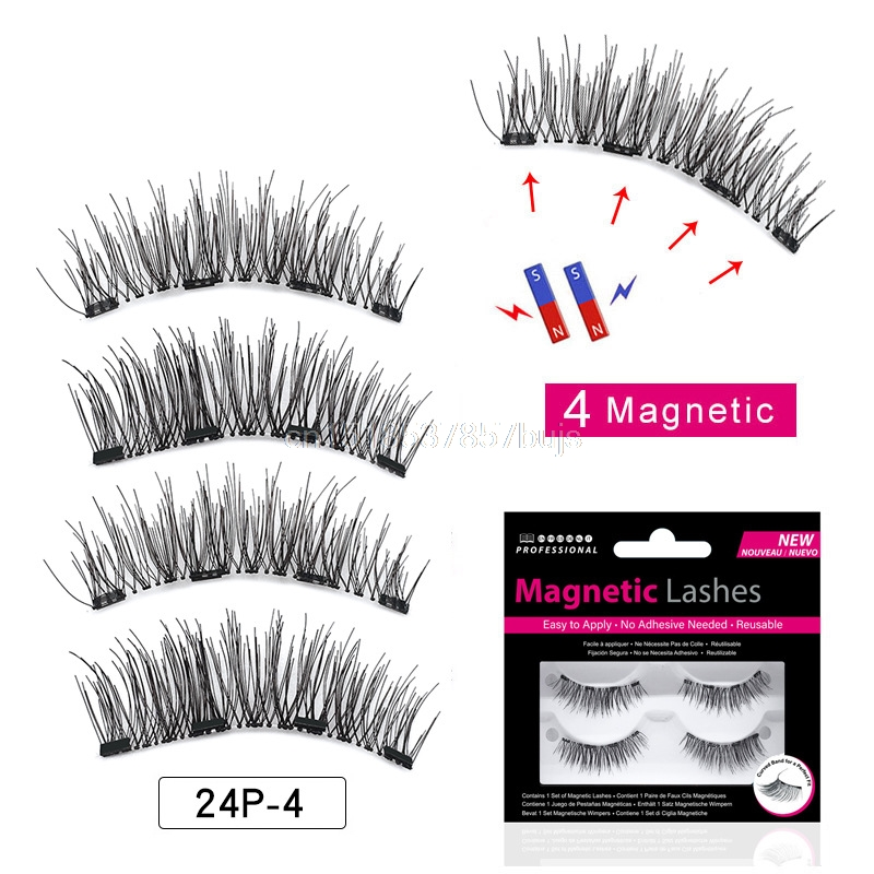 80c3800361c Detail Feedback Questions about MB 2 Pairs Magnetic eyelashes with 4 ...