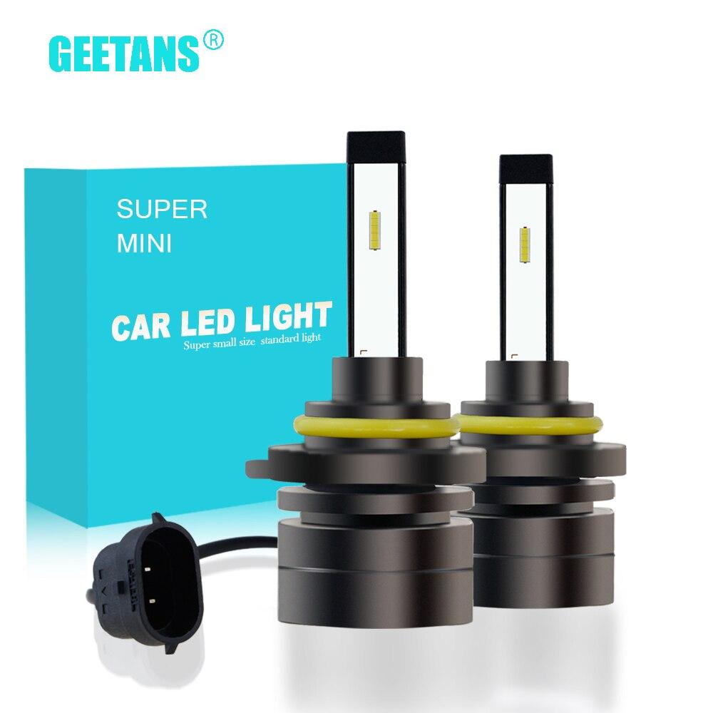 H7 H4 H1 H11 Car LED Headlight Bulbs 60W HB4 9005 9006 H27 HB3 H3 H8 CSP Super Mini Fog Light Headlamp 6000K 12V 8000LM 2PCS