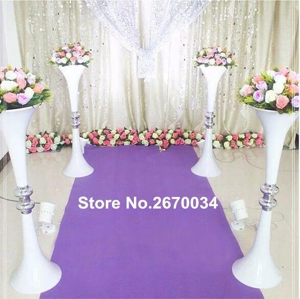 Elegant Tall Round Columns For Wedding Decoration Slivergold