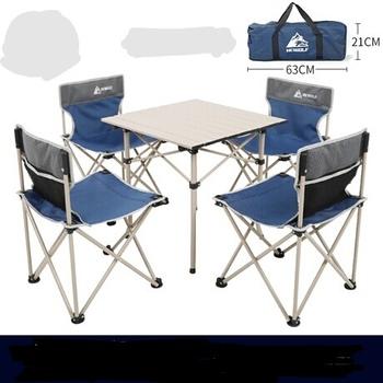Zestaw ogrodowy meble ogrodowe meble ogrodowe patio meble muebles de jardin ze stopu aluminium składane 1 stół + 4 zestaw mebli z krzesłami tanie i dobre opinie Ogród zestaw Nowoczesne Ecoz Krajem ameryki Metal iron