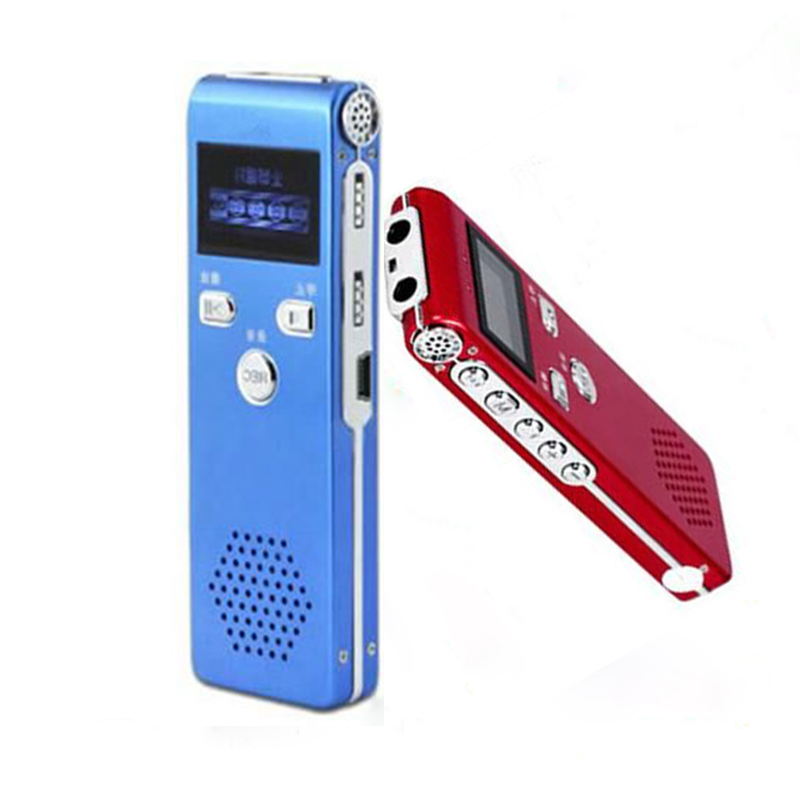 Digital Voice Recorder With Microphone 8GB Voice Recording Mini Dictaphone Meeting Professional Audio Recorder Pen MP3 Player 8gb digital voice recorder mini rechargeable dictaphone recording pen drive sound audio recorder with mp3 player u disk 700