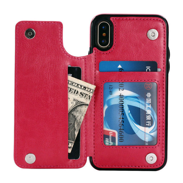 iPhone Leather Flip Case  4