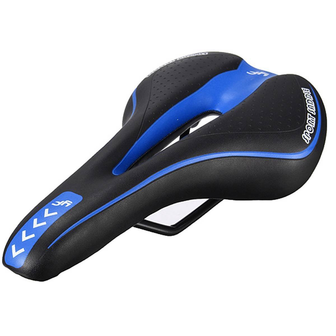 YAFEE Bicycle saddle Bicycle Seat Gel Mount Bike Saddle Bicycle Racing Bicycle Saddle Black and Blue цена