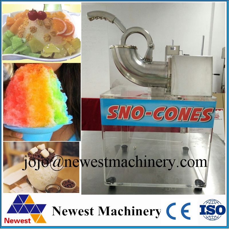 commercial ice crusher shaver snow cone mainland - Commercial Snow Cone Machine