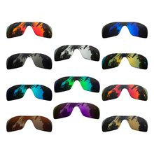 Polarized Mirrored Coating Replacement Lenses for-Oakley Batwolf Frame Multi-Colors(China)