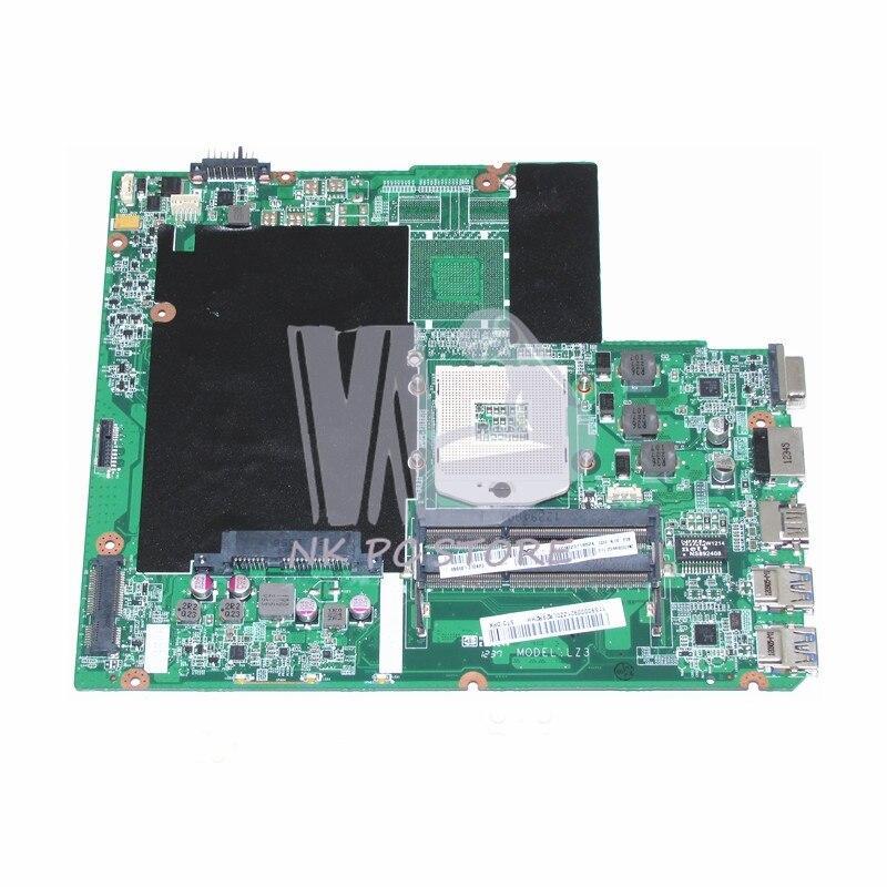 NOKOTION DA0LZ3MB6G0 Main Board For Lenovo ideapad Z580 Laptop motheboard HM76 GMA HD DDR3 11S90000921 nokotion notebook pc motherboard for lenovo ideapad g500 main board system board viwgpgr la 9632p hm76 ddr3