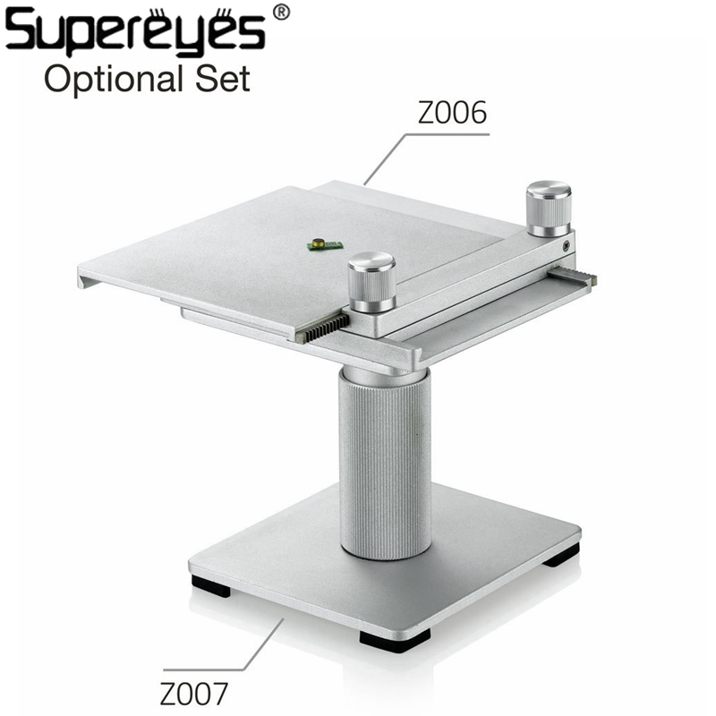 Supereyes Z006 Microscope Stand Lightweight Portable Adjustable Digital Microscope Holder USB Microscope Repair Stand Hold factory direct sale mini industry microscope stand lcd digital microscope camera arm holder size 40mm