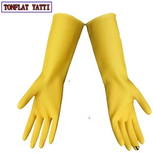 2018 NEW 10 pairs/lot Latex Gloves Waterproof Thick Rubber Gloves For Working Cleaning Anti-Acid & Alkali Anti-corrosion